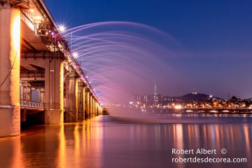 Fotografía del puente Banpo